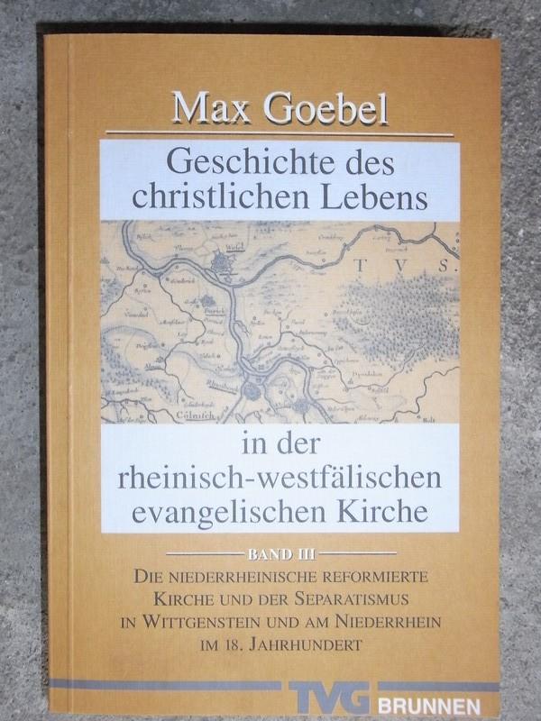 Max Goebel - Geschichte des... (1)