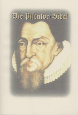 Piscator-Bibel - Dokumentation - gross